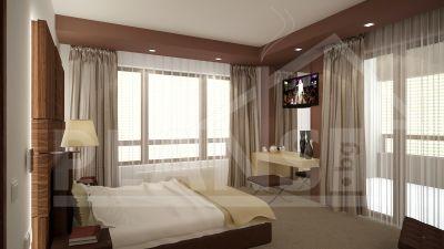 Интериорен проект за спалня МОНТАНА - Изображение 1