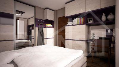 Интериорен проект за спалня МОТОПИСТА - Изображение 1